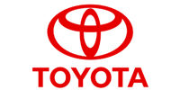Logo of Toyota, one of the brands offered by FTD under a forklift sale or forklift hire agreement in Suffolk and Sussex