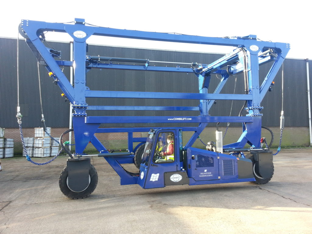 Image of a Combilift fork truck, a partner for forktruckdirect who has fork trucks for hire and for sale in areas as Essex and Suffolk