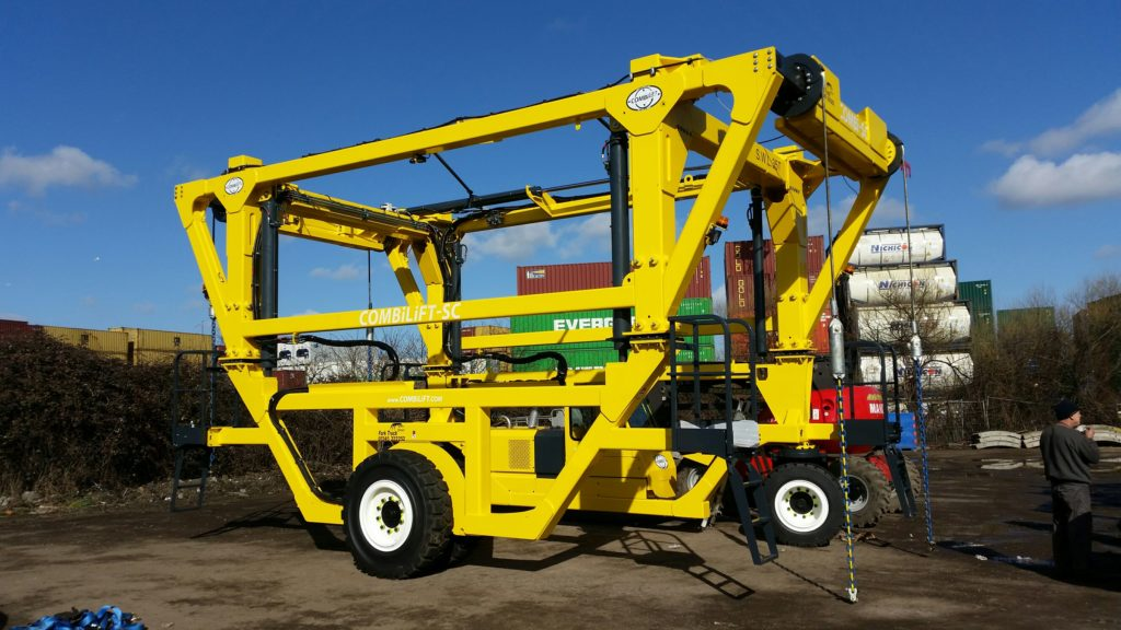 Another Combilift fork truck carrier sold or hired by teh company mainly in Essex and Suffolk