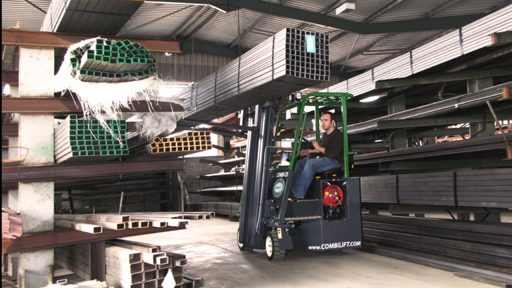 Combi CB Series fork lift trucks in action