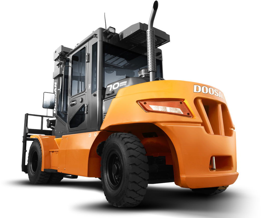 Doosan D60-90S-7, a fork truck sold or hired by the company in both Suffolk and Essex