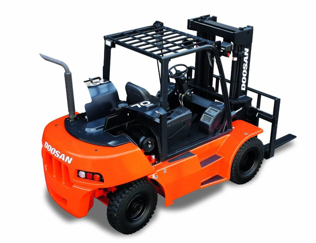 Doosan DG60-90S-5, a series 5 commercialised and hired in Sufflok and Essex by forktruckdirect