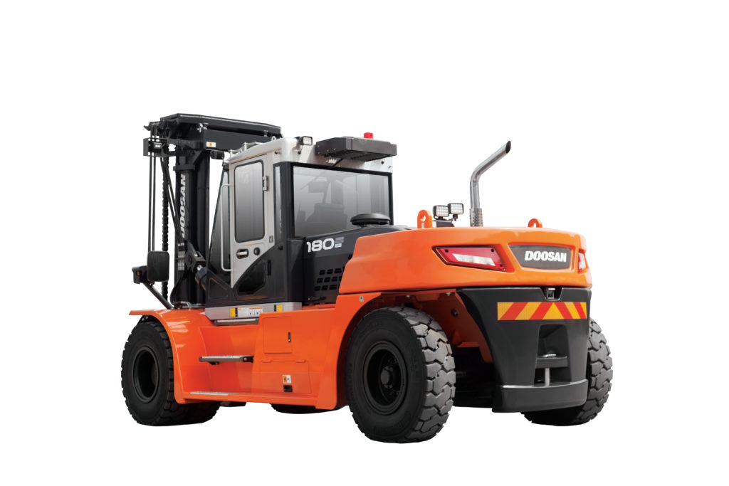Doosan DV100-160S-7, one of the new series 7 fork trucks sold or hired in Essex and Suffolk by forktruckdirect