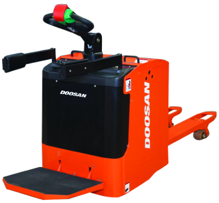 Doosan ride on electric powered pallet truck for sale
