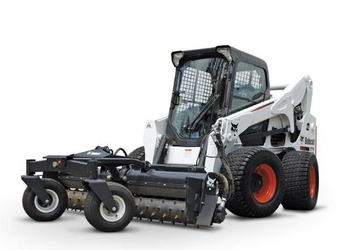 Image of a Bobcat All Wheel Steer Loaders representing services of Bobcat All-Wheel Steer Loaders for Sale in Essex by FTD. FTD also offers Bobcat All-Wheel Steer Loaders for Sale in Suffolk.