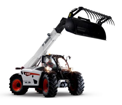 Image of a Bobcat Telescopic Loader from Fork Truck Direct. FTD provide Telescopic Loaders for Sale in Essex. It also offers Bobcat Telescopic Loaders for Sale in Suffolk.