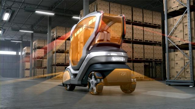 Doosan Intelligent Forklift