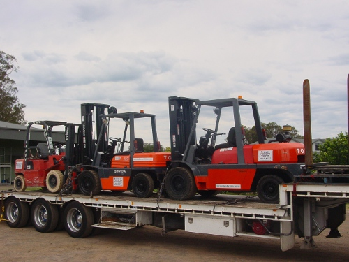 forklift transport