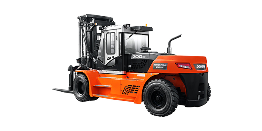 Doosan diesel forklift offered by FTD if you are looking to hire a diesel forklift, or diesel forklifts for sale.