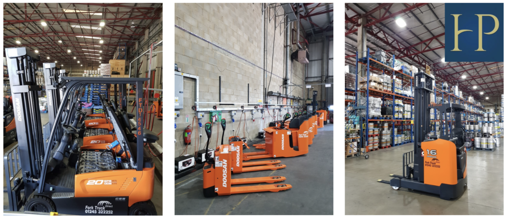HILLS PROSPECT CHOOSE ENERGY EFFICIENT DOOSAN ELECTRIC FORK TRUCKS FOR THEIR INTENSIVE OPERATION