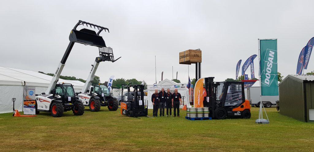 Fork Truck Direct Sales team at Suffolk Show